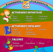 Flyer infantil. Um projeto de Design gráfico de Juan Bares         - 23.09.2015