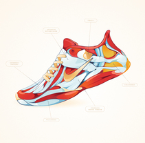 Shoes Anatomy - DASHAPE BCN. A Design&Illustration project by DSORDER  - 01-10-2015