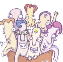 REBAJAS. Viñeta extraída del libro LIGAR. El mejor remedio para una soltería crónica.. Un proyecto de Comic de pablo matera         - 04.10.2015