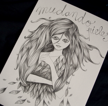 Mudando. A Design, Illustration, Graphic Design, and Painting project by karol herrero - 04-10-2015