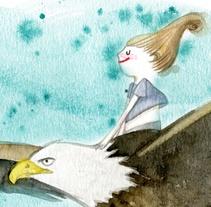Alma i Àliga. Un proyecto de Ilustración y Diseño de personajes de Sandra Uve aka Alejandra Villanueva - 17-01-2016