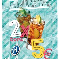 Cartelería Harbour Vilagarcía. Un proyecto de Diseño, Diseño gráfico y Marketing de Erica Tourís Fresco - 08-10-2015