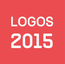 Logos 2015. A Br, ing, Identit, Graphic Design, T, and pograph project by Elisabet FC - 10.16.2015
