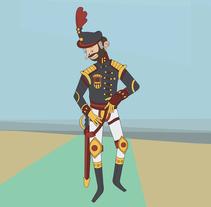 Algunos diseños de personaje. Un proyecto de Ilustración y Diseño de personajes de Oliver Añón Lema         - 18.10.2015