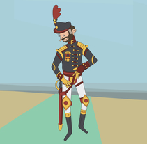 Algunos diseños de personaje. A Illustration, and Character Design project by Oliver Añón Lema         - 18.10.2015