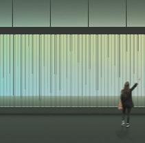 LLUVIA INVISIBLE. Um projeto de Instalações, Arquitetura de interiores, Escultura e Design de cenários de Núria Alarcón Giné         - 24.06.2015