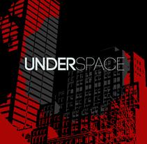 Imagen corporativa - Underspace. Un proyecto de Br e ing e Identidad de Agustín Mujica         - 19.10.2015