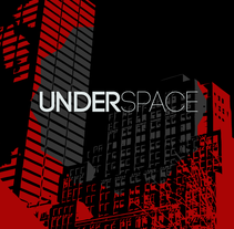 Imagen corporativa - Underspace. Um projeto de Br e ing e Identidade de Agustín Mujica         - 19.10.2015