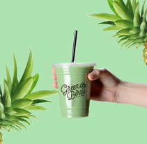 GreenBerry | Juguería. A Art Direction, Br, ing, Identit, and Graphic Design project by jaquematito - 22-10-2015