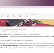 Herramienta: Autodiagnóstico Internacionalización - Ministerio de Industria, Energía y Turismo DGIPYME. A Web Development project by María Díaz-Llanos Lecuona         - 22.10.2015