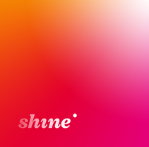 Shine. A Br, ing, Identit&Interactive Design project by Pedro López - 25-10-2015