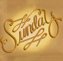 - SUNDAY October 4TH - . A Calligraph project by Nahueel Barraza - 24-10-2015