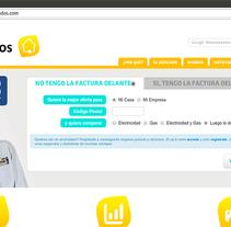 enchufados.com . A Web Design, and Web Development project by Gema R. Yanguas Almazán         - 30.11.2014