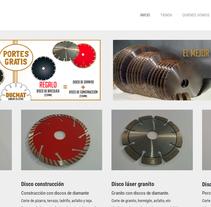 discocortediamante.com. A Web Development project by Gema R. Yanguas Almazán         - 17.05.2015