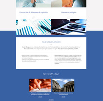 LANT Abogados. A Web Design project by La Teva Web Diseño Web  - 26-10-2015