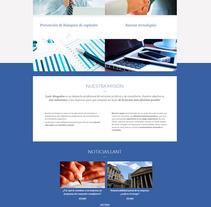 LANT Abogados. Un proyecto de Diseño Web de La Teva Web Diseño Web  - Martes, 27 de octubre de 2015 00:00:00 +0100