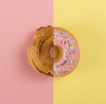 FAST FOOD VS SLOW FOOD / Fotografía de producto. Un proyecto de Diseño, Fotografía y Cocina de Mª Eugenia Casamayor - 26-01-2016