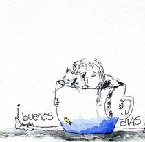 inktober 2015. A Design&Illustration project by ester gonzález suárez         - 11.11.2015