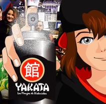 Proyecto integrado: Yakata, Spot. Irène K.. A Design, Illustration, Animation, Multimedia, and Comic project by Irène K. - 10-01-2016