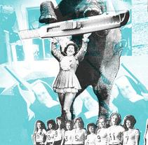 Césped de Verdad LP. Um projeto de Música e Áudio, Design gráfico e Colagem de Edgar Fadrique         - 14.11.2015