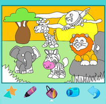 Más juegos interactivos infantiles: Paint Art. A Education project by Smile And Learn         - 16.11.2015