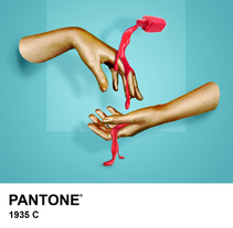 Pantone. A Advertising, Photograph, and Art Direction project by Ana Lope de la Peña - 17-11-2015