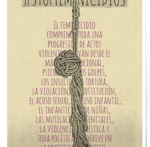Opinión: No a la violencia machista. . A Graphic Design project by Uri          - 18.11.2015