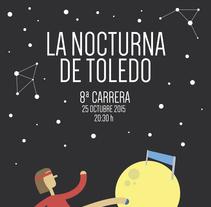 La Nocturna de Toledo - Identidad Corporativa. A Design, Illustration, Br, ing, Identit, and Graphic Design project by Alicia Torres         - 18.11.2015