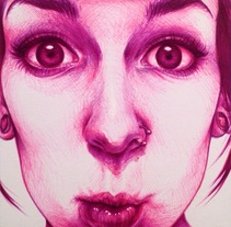 WeirdFaces (bolígrafo). Un proyecto de Ilustración de Monica Esteo Ruiz - 19-11-2015