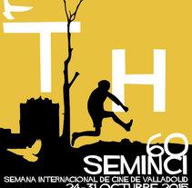 60 SEMINCI - Semana Internacional de Cine de Valladolid. A Illustration, and Graphic Design project by Reyes Alejandre Escudero         - 30.04.2015