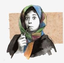 Commission. Un proyecto de Ilustración y Bellas Artes de Mentiradeloro Esther Cuesta - 23-11-2015