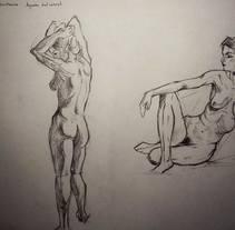 Anatomía. Un proyecto de Ilustración de Marina Martín Hacar         - 23.11.2015
