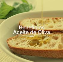 Beneficios del aceite de oliva. Un proyecto de Diseño gráfico y Diseño de la información de Inmaculada Jiménez - 24-11-2015