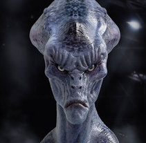 Alien. Um projeto de 3D de Mikel Uzkudun Carrizo         - 10.05.2016