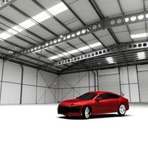 Modelado en 3D / 3D Modeling 2014 Audi / Autodesk Maya. A Design, UI / UX, 3D, Animation, Graphic Design, Multimedia, Sculpture, and Video project by OSCAR GOMEZ         - 01.12.2015