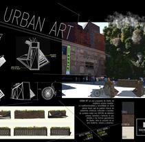 Urban Art. Proyecto FINALISTA de COSENTINO DESIGN CHALLENGE 8 2014 en la categoría de diseño. Un proyecto de Diseño, Diseño de interiores, Paisajismo y Diseño de producto de Ana Blanco         - 25.05.2014
