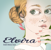 """Elvira"". A Illustration, Character Design, and Editorial Design project by Cecilia Sánchez          - 09.12.2015"