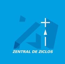 Zentral de Ziclos. Un proyecto de Br, ing e Identidad, Dirección de arte, Diseño, Diseño gráfico, Eventos y Publicidad de Alejandro Mazuelas Kamiruaga - Sábado, 10 de octubre de 2015 00:00:00 +0200