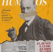 Afiche Teatro- Recursos Humanos. A Design, Art Direction, and Graphic Design project by sazidel - 13-12-2015