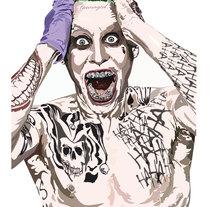 Ilustración Joker. A Design, Illustration, and Fine Art project by Manuel Retamero Martin         - 14.12.2015