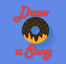 Draw a song #4 Sugar. A Design, Illustration, Fine Art, and Graphic Design project by Gianni Antonucci         - 27.12.2015