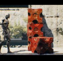 Peek (Picher Cubes). Intro generada en Unreal Engine 4, integramente en tiempo real de un pequeño juego que estoy desarrollando. A 3D, and Game Design project by Javier  Pedragosa - 30-11-2015
