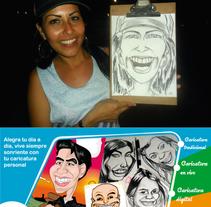 Realizamos Tu caricatura personal a pedido o envivo. A Illustration project by Franklin W Casa Romero - 04-01-2016