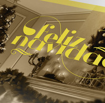 Tarjeta de Navidad. Um projeto de Ilustração, Fotografia, Design gráfico e Tipografia de Carlos Sánchez Gallego         - 23.12.2015