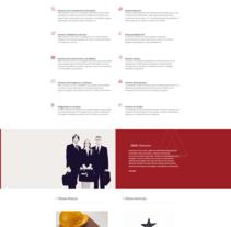 Abogado laboralista MMC Advocats. Un proyecto de Diseño Web de La Teva Web Diseño Web  - Jueves, 07 de enero de 2016 00:00:00 +0100