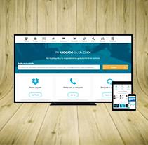 Portalabogados.es (Rediseño). A UI / UX, Web Design, and Web Development project by María López Martín-Sanz         - 30.11.2015