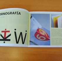 Proyecto Tipográfico. Un proyecto de Diseño editorial de Paula Espina         - 11.01.2016