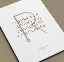 Rafalete. Un proyecto de Dirección de arte, Br, ing e Identidad y Diseño editorial de Pedro López - 13-01-2016