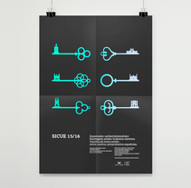 SICUE poster. A Editorial Design, and Graphic Design project by Borja Junguitu         - 19.01.2016