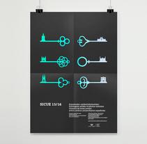 SICUE poster. Un proyecto de Diseño editorial y Diseño gráfico de Borja Junguitu         - 19.01.2016